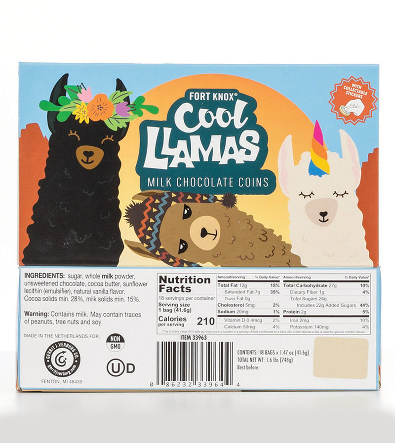 Fort Knox® Cool Llamas Mesh Bags