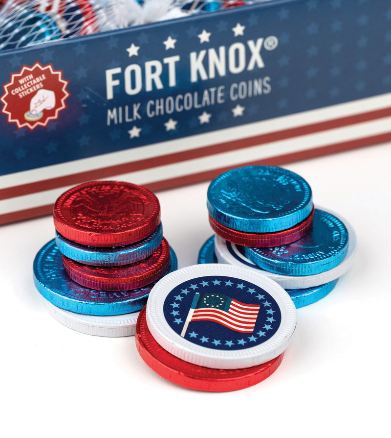 Fort Knox® Red, White, and Blue