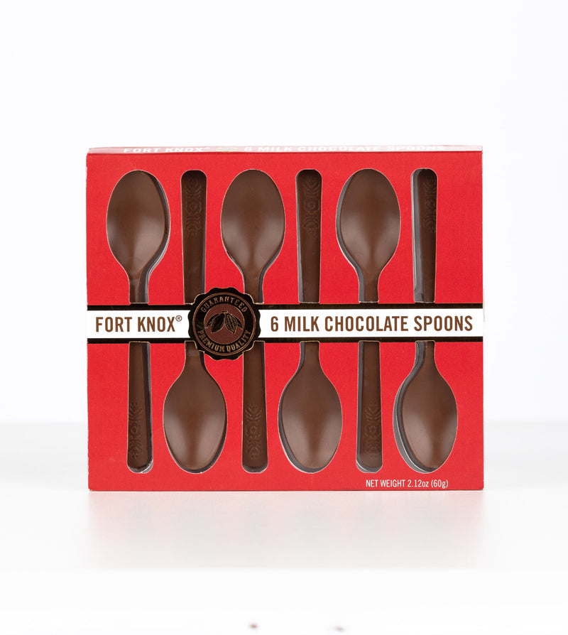Fort Knox®️ Milk Chocolate Spoons