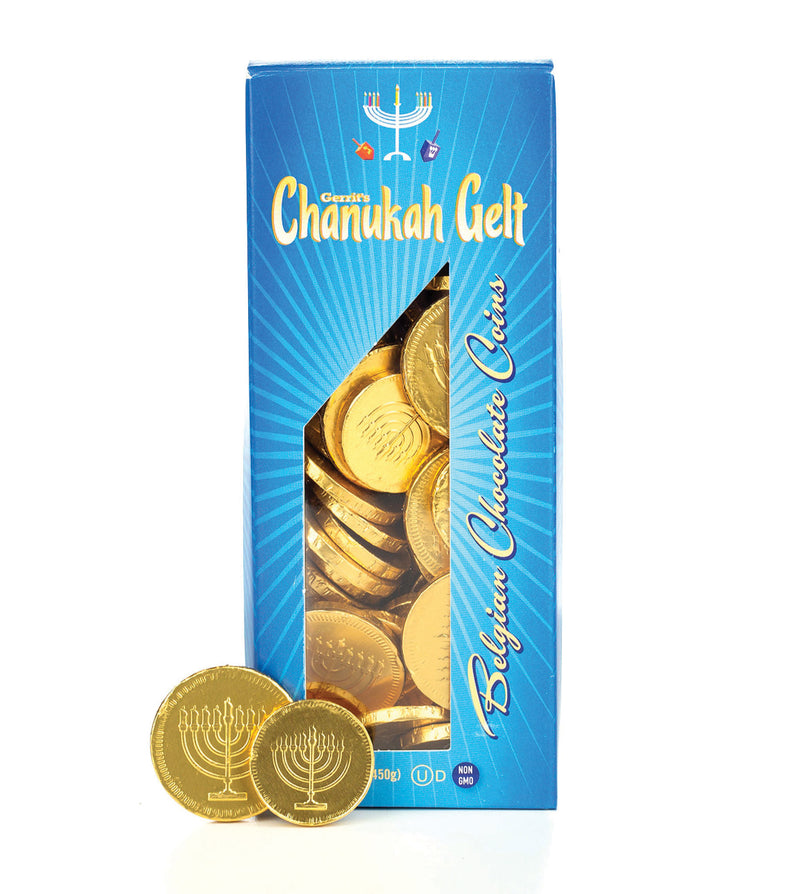 Gerrit's Chanukah Gelt Tower Box