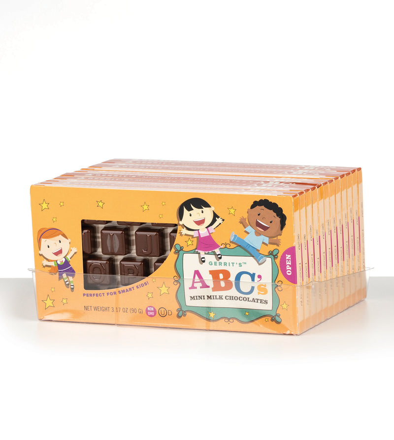 Gerrit's Mini Chocolates ABC's
