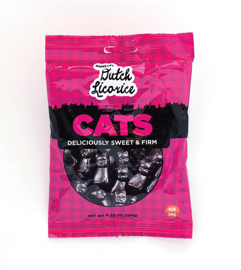 Gustaf's Dutch Licorice Cats