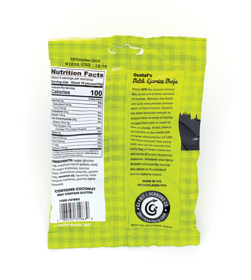 Gustaf's Dutch Licorice Drops