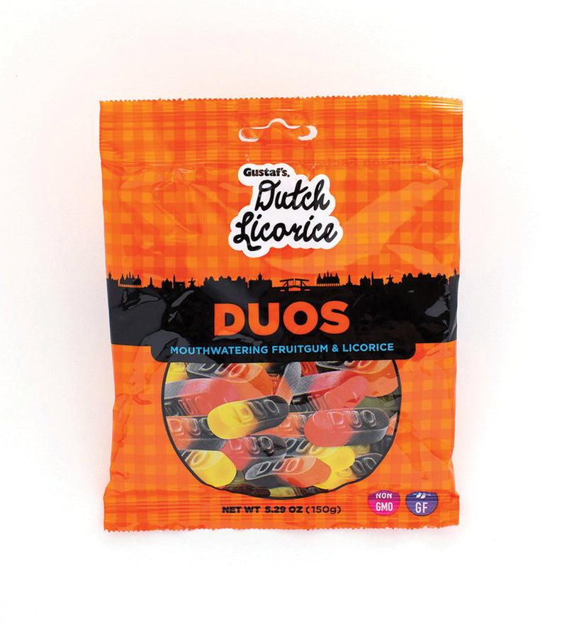 Gustaf's Dutch Licorice Duos