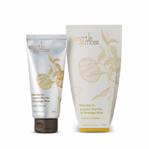 Hand Cream Mandarin, Lemon Myrtle & Orange Peel