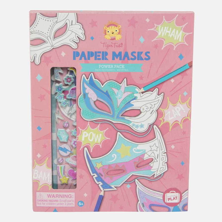 Paper Masks Power Pack