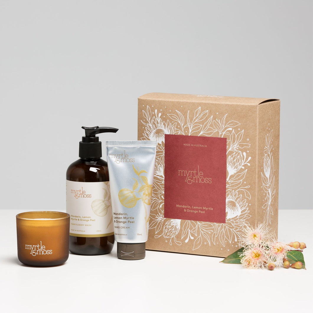 Gift Box Trio - Mandarin, Lemon Myrtle & Orange Peel