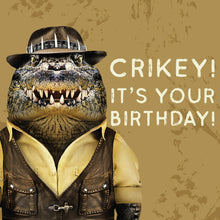 Load image into Gallery viewer, Greeting Card Crikey Croc