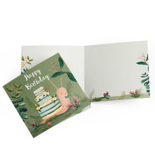 Load image into Gallery viewer, Greeting Card Birthday Snail