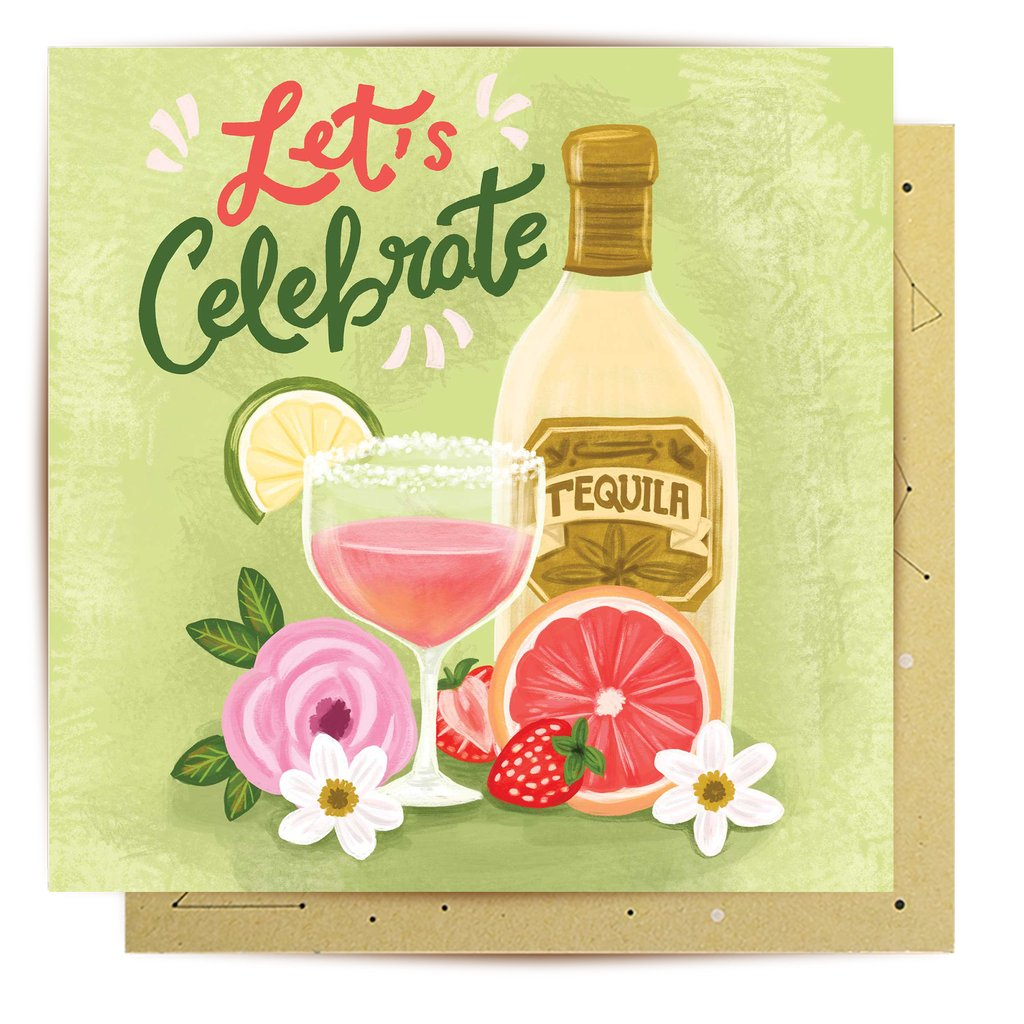 Mini Card Celebration Cocktail