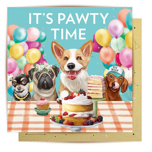 Mini Card Pawty Time