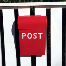 Load image into Gallery viewer, Post Box Medium Red
