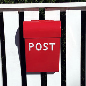 Post Box Medium Red