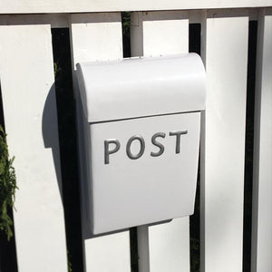 Post Box Medium White