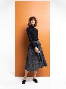 Queenie Skirt - Pepper