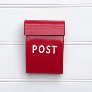 Post Box Small Red