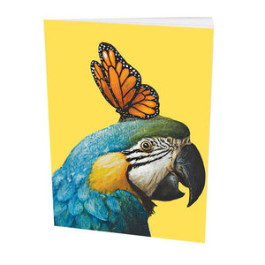 Pocket Book Blue Parrot