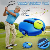 Ultimate Solo Tennis Trainer 2.0™ - Fit For Fuel build muscle lose weight burn fat at home workout resistance bands