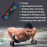 9-IN-1 Home Fitness Push-Up Board - Fit For Fuel build muscle lose weight burn fat at home workout resistance bands