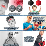 ULTIMATE Boxing Reflex Ball™ - Fit For Fuel build muscle lose weight burn fat at home workout resistance bands