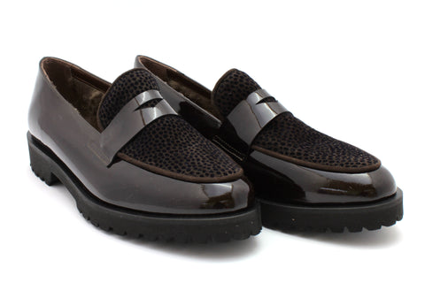 Loafer mit Lammfell - Lorenzo Schuhe & Accessoires
