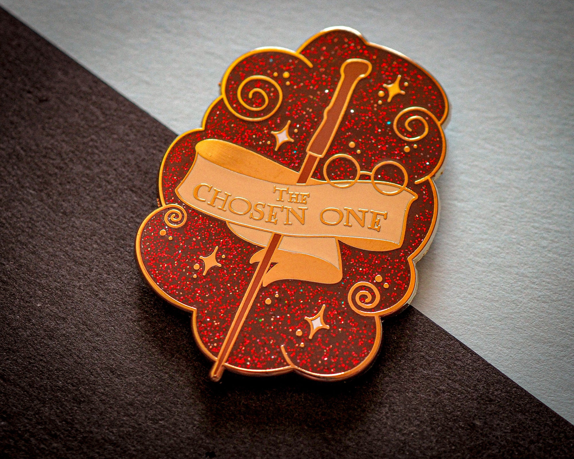 Famous Wands - Chosen one - Enamel Pin