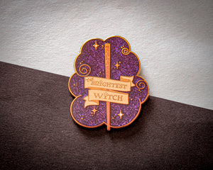 Famous Wands - Brightest One - Enamel Pin