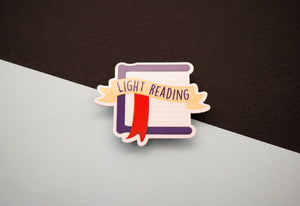 WIZARDRY - Light reading - Sticker