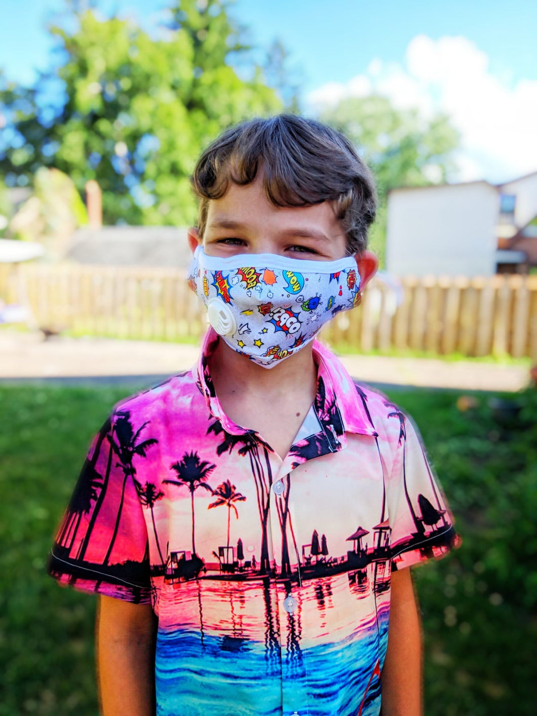 CHILD Batman: Personal Face Mask with Air Valve