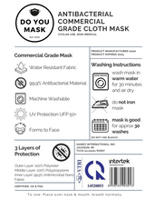 Load image into Gallery viewer, 25pc Commercial Grade Washable Face Mask - Bulk Order