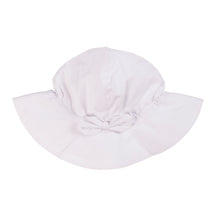 Load image into Gallery viewer, Hat with bow (white/navy blue/red)
