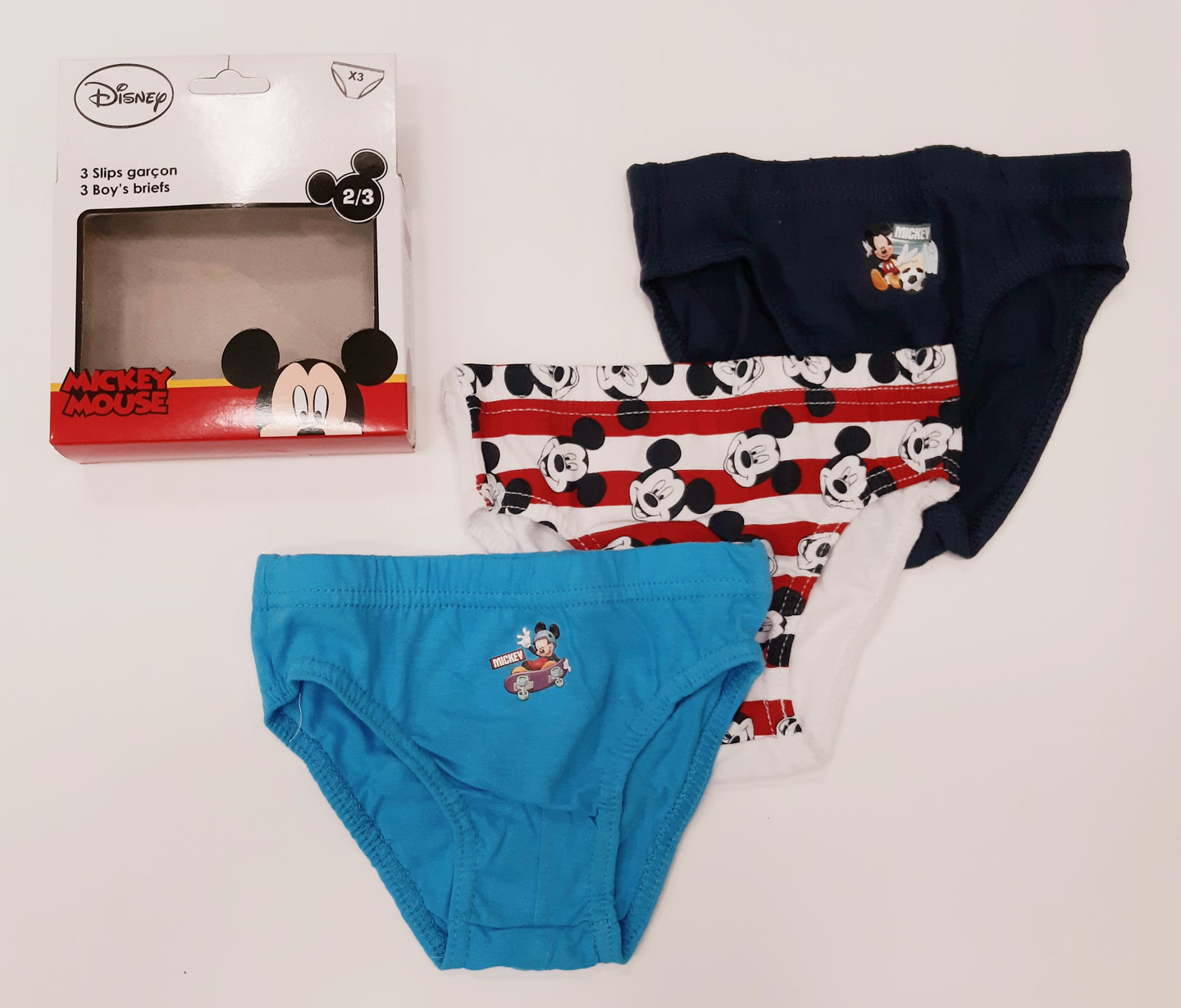 Mickey Mouse panties (Pkt of 3)
