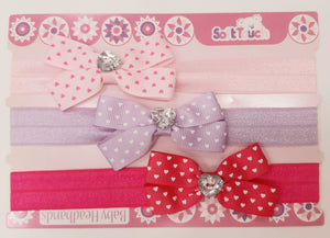 Headbands (Pkt of 3)