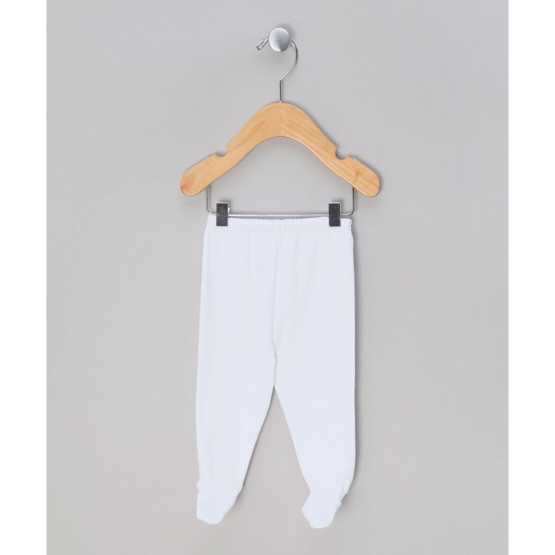 Cotton gaiters  (white/pink or light blue)