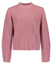 Load image into Gallery viewer, Knitted top (cream/pink)