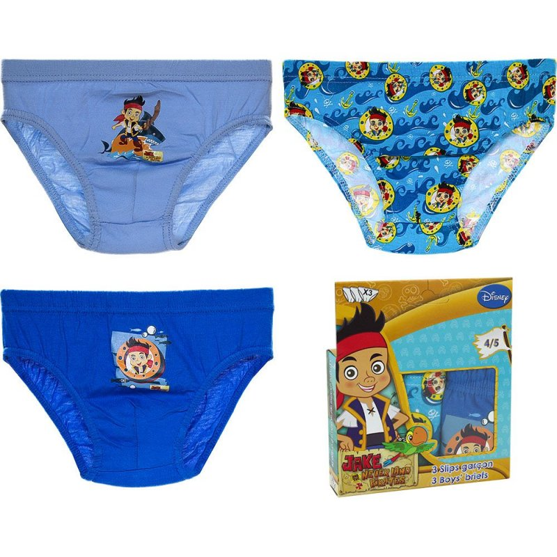Jake and the never land pirates panties (pkt of 3)