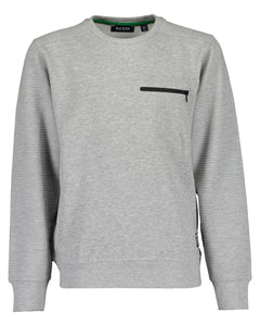 Knitted jersey (black/grey)