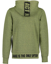 Load image into Gallery viewer, No excuses zipper (khaki/grey)