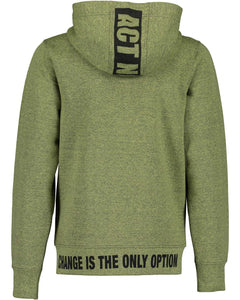 No excuses zipper (khaki/grey)
