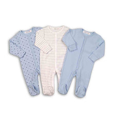 Load image into Gallery viewer, 3 pk  sleepsuits