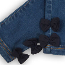 Load image into Gallery viewer, Straight leg jeans with bows