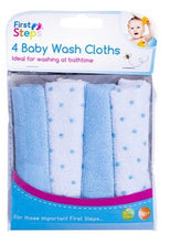 Load image into Gallery viewer, Baby wash cloths.