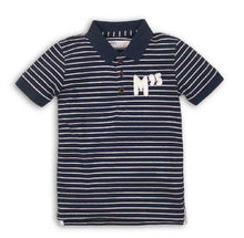 Load image into Gallery viewer, Striped polo shirt