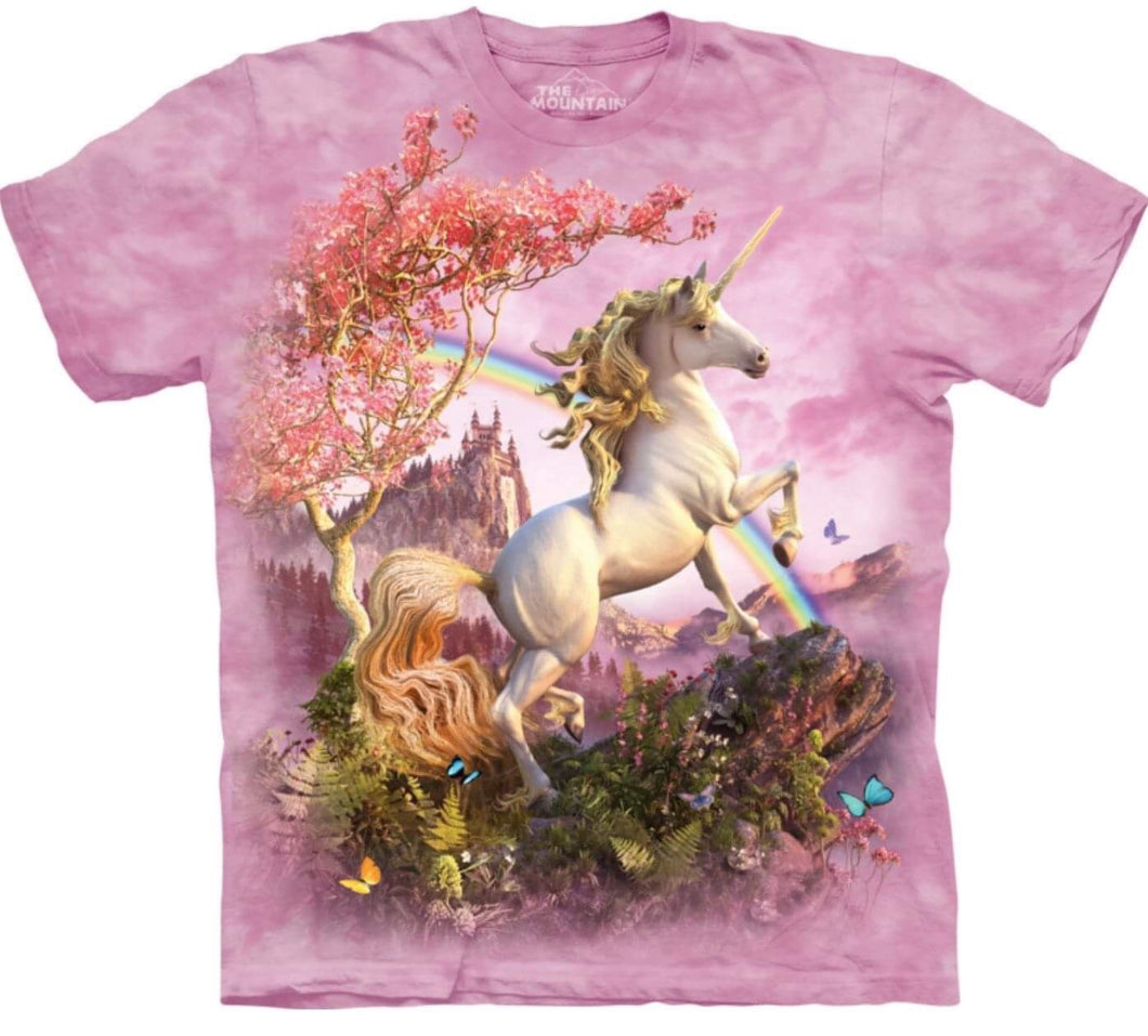 'Awesome Unicorn' T-shirt - The Mountain Children