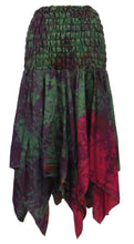Load image into Gallery viewer, Recycled Silk Pixie Skirt/Dress