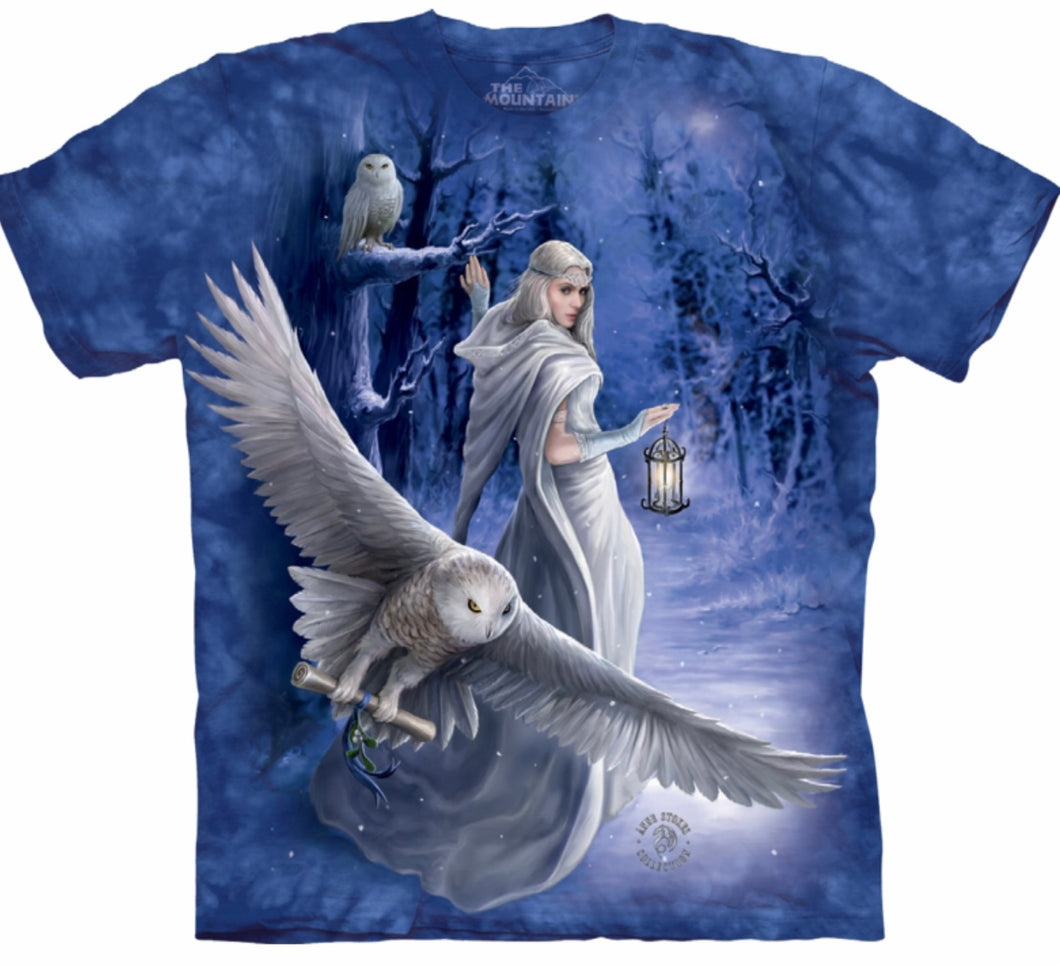 'Midnight Messenger' Mountain T-shirt