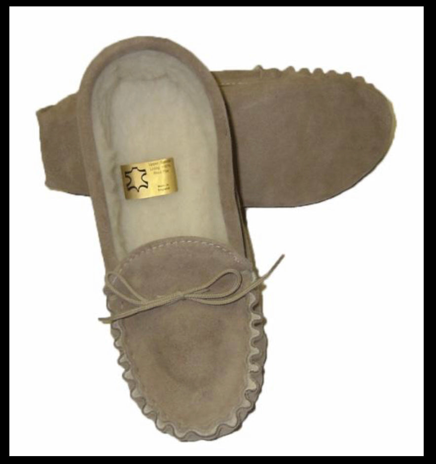 Soft Sole Moccasin Slippers