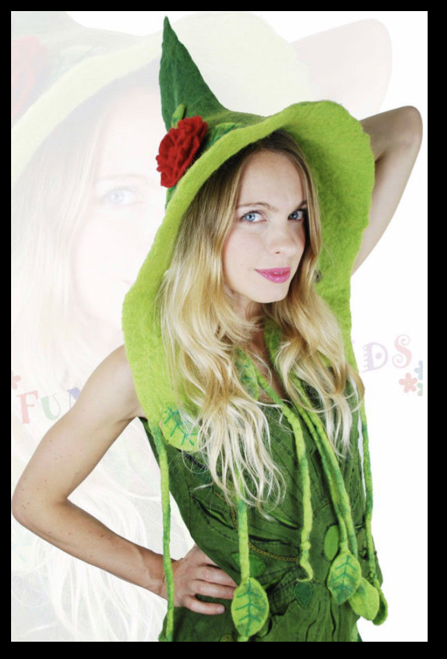hat - Green Fairy
