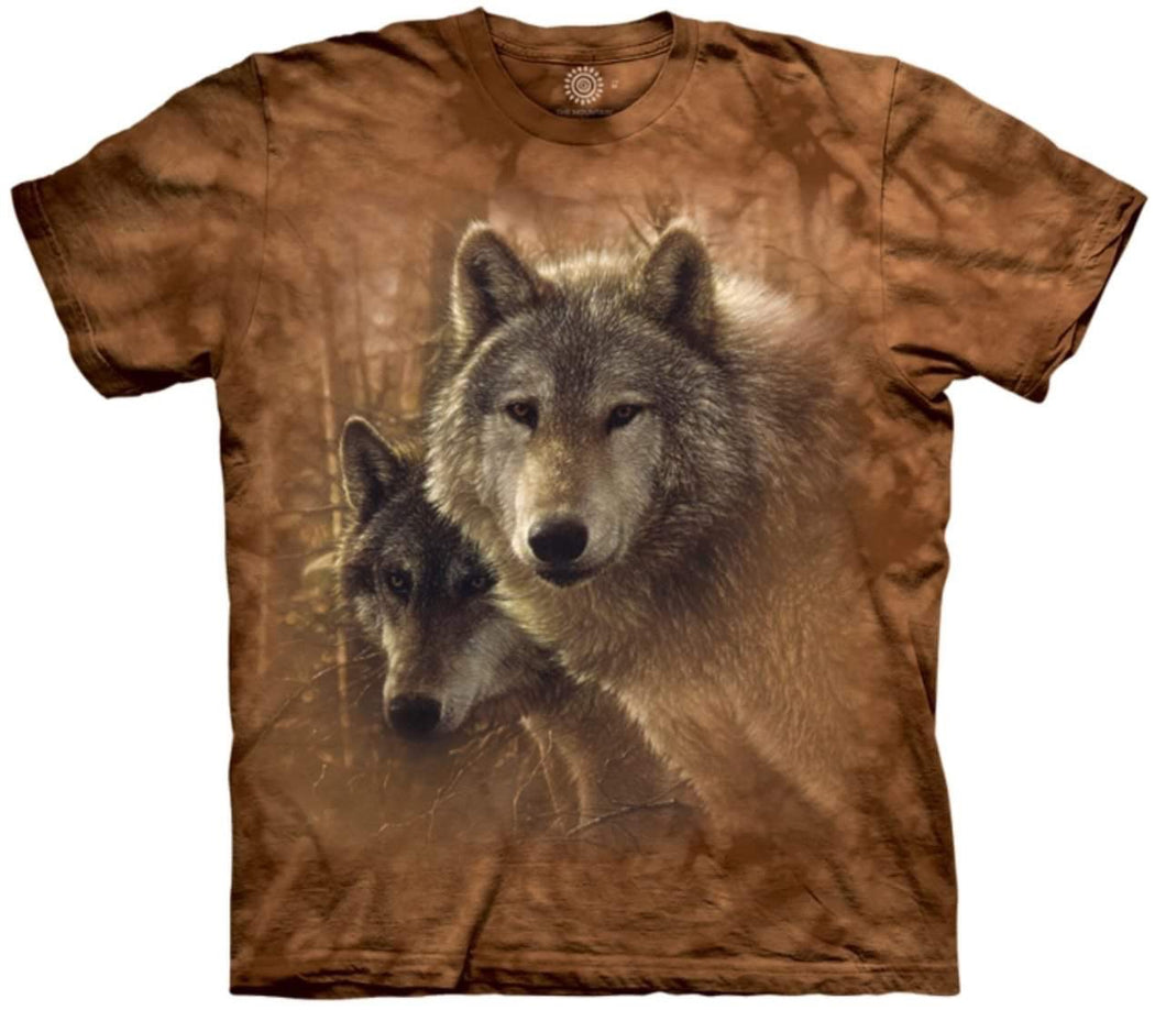 'Woodland Companions' Mountain T-shirt