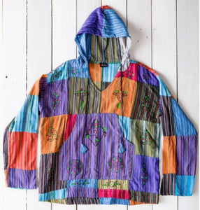 Hooded Hippy Top - Gringo